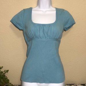 Axcess Liz Claiborne Light Blue Sweater Blouse